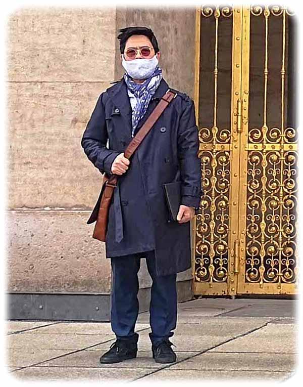 Cao The Hung versteht, dass die Abneigung der Deutschen gegen das Maskentragen in ihrer Kultur verwurzelt ist. Aber wenn das Corona-Virus droht tragen Deutsche wie Vietnamesen lieber Masken. Foto: Heiko Weckbrodt