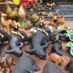 Keramiktiere in Bat Trang. Foto: Heiko Weckbrodt