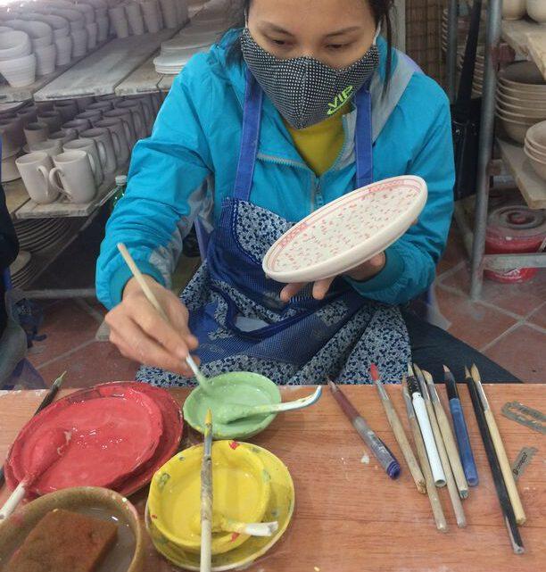 Das Keramikdorf Bát Tràng bei Hanoi ist einen Ausflug wert