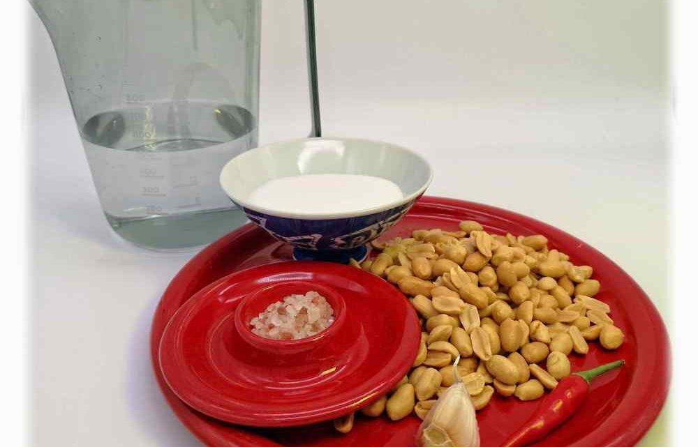 Rezept für Erdnuss-Sauce aus Vietnam